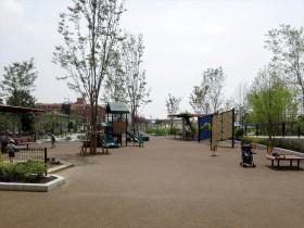 遊具の遊び場