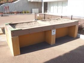 レイズドベッド砂場
